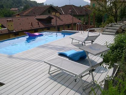 Deck bordo piscine deck composito prodotti in polipropilene e